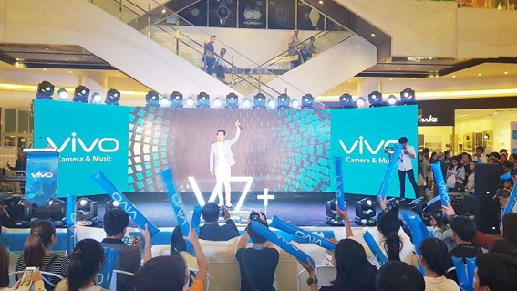 全新VIVO V7 +强势登陆柬埔寨市场