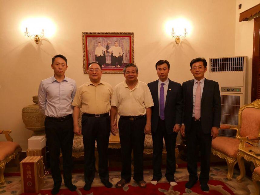 副總理為中柬金邊經濟特區項目點贊!